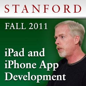 Curso de iPad e iPhone da Stanford