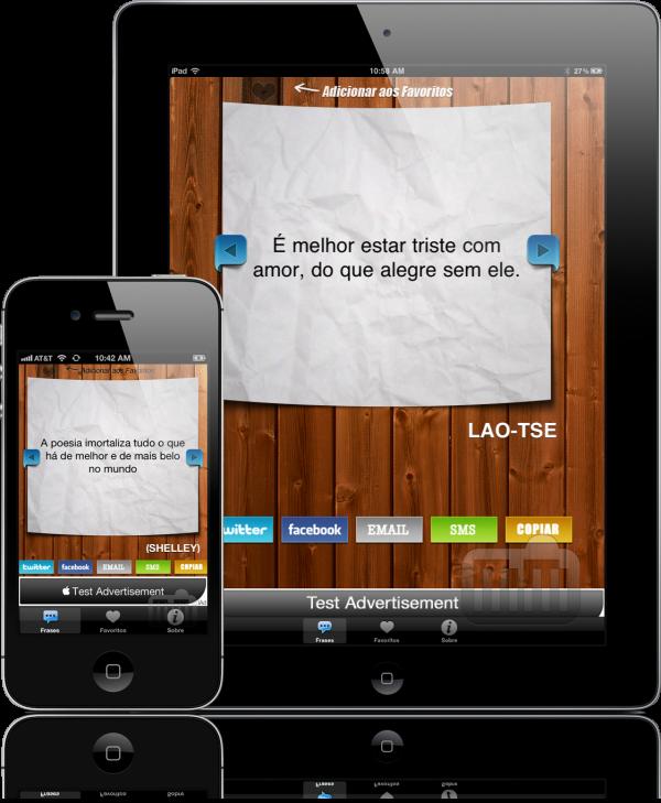 Frases - iPhone e iPad