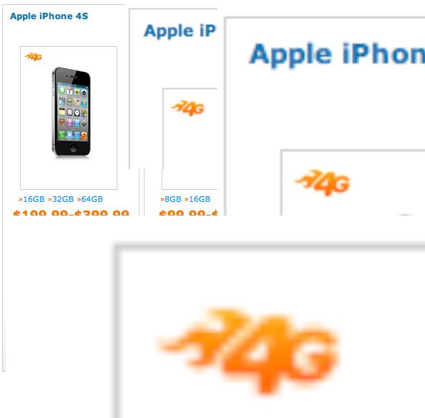 iPhone 4S 4G na AT&T