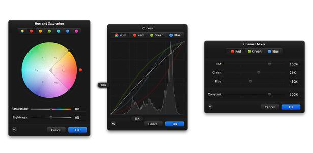 Pixelmator 2.0 - Edição de cores