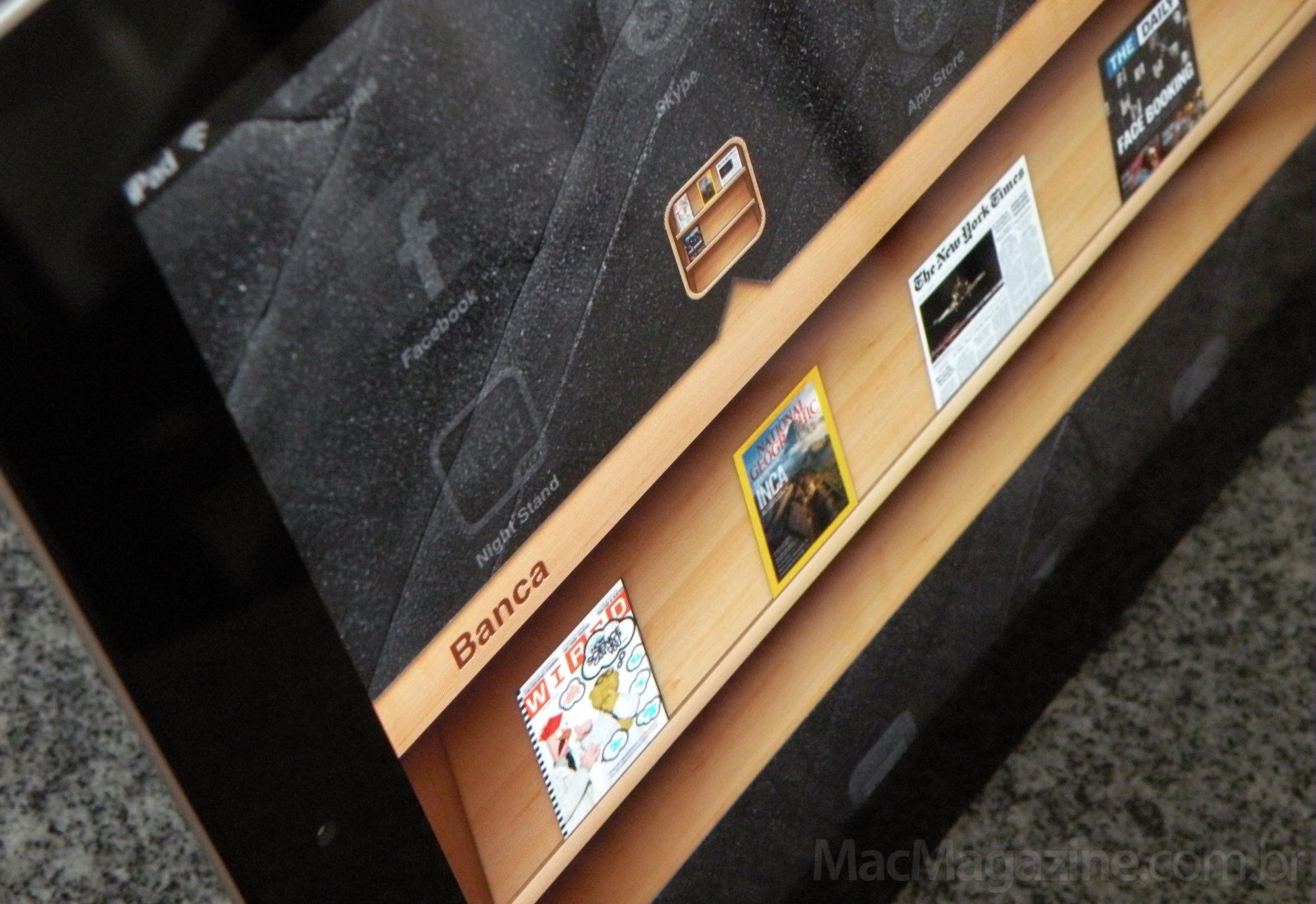Banca (Newsstand) no iPad