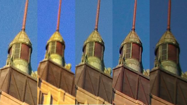 Comparação de câmeras - Ars Technica