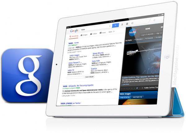 Novo app Google Search no iPad