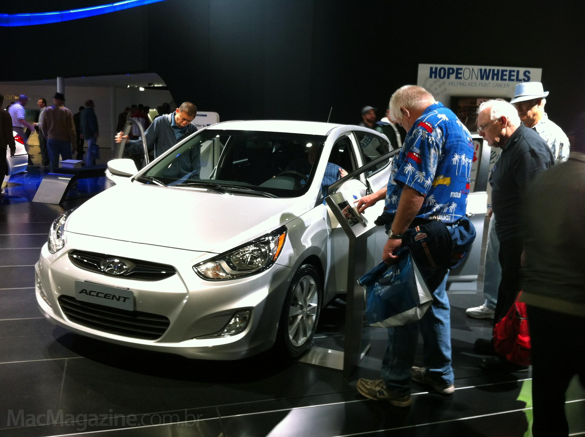 Case da nKey no LA Auto Show com a Hyundai
