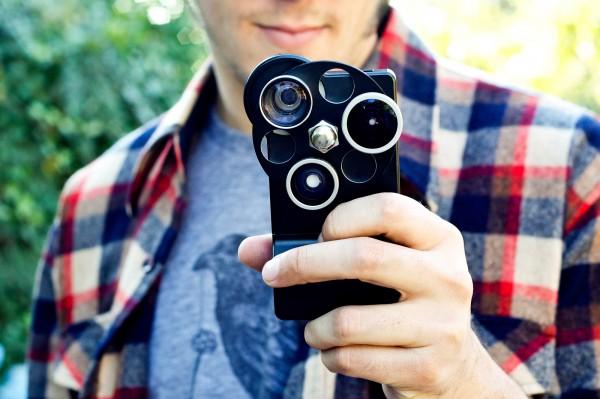 The iPhone Lens Dial - Photojojo