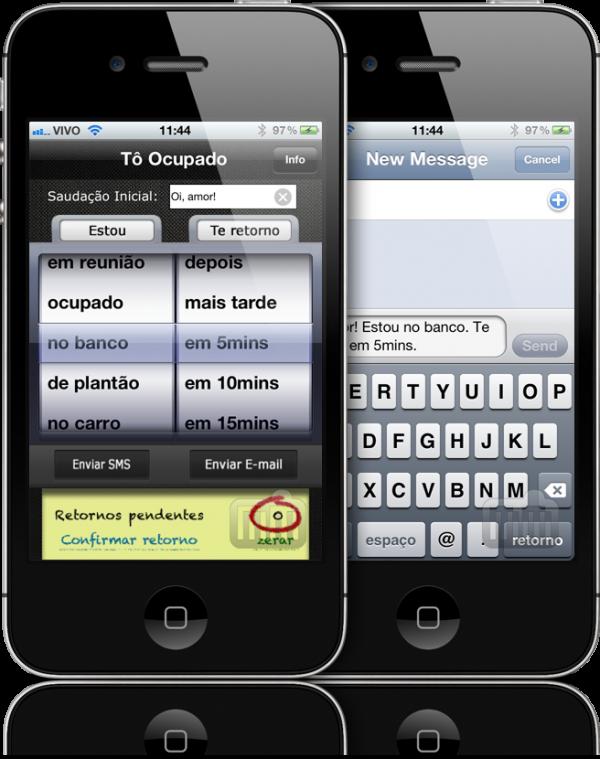 Tô Ocupado - iPhones