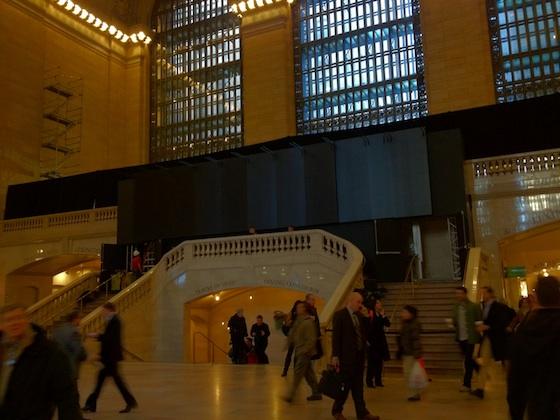 Obras na Apple Store, Grand Central Terminal
