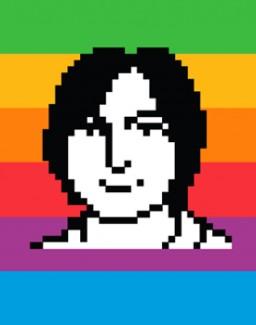 Steve Jobs por Susan Kare
