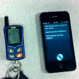 Siri e Viper SmartCar