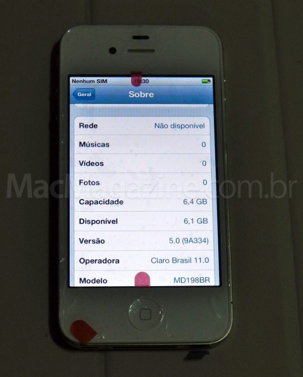 iPhone 4 de 8GB brasileiro