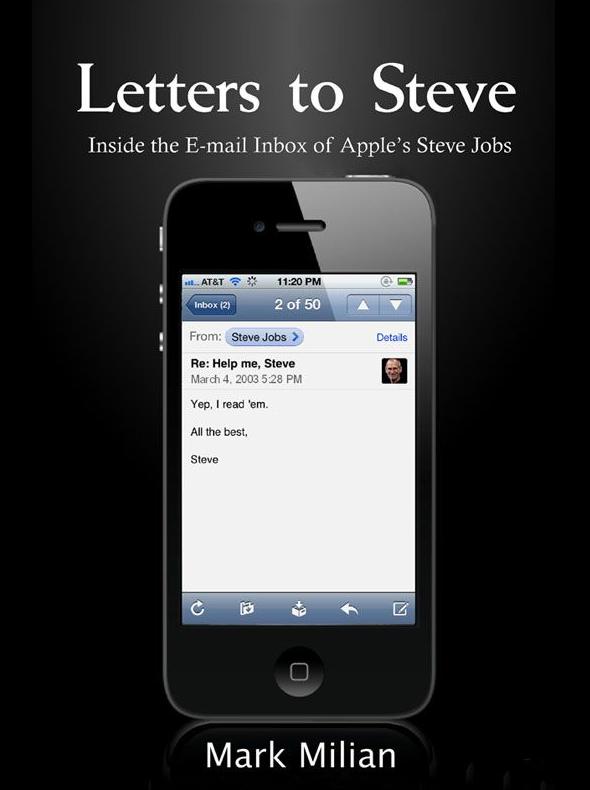 """Capa do Livro """"Letters to Steve"""""""