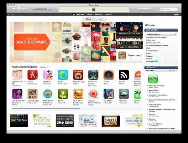 App Store brasileira