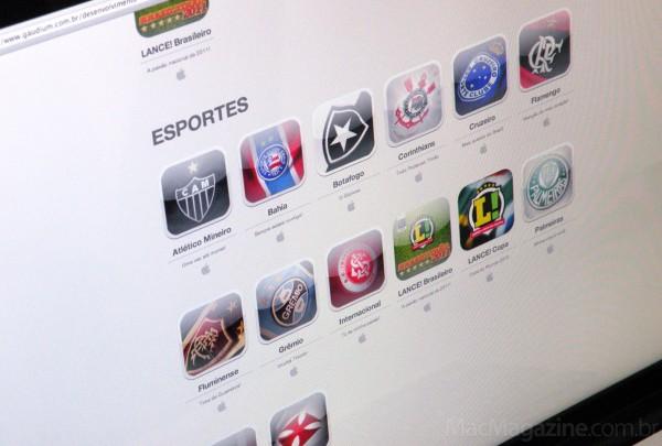 Apps de times da Gaudium