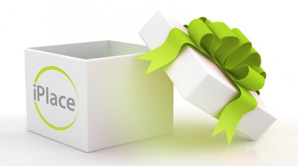 Caixa de presente da iPlace