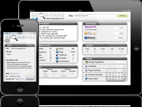 Seonpage - iPhone e iPad