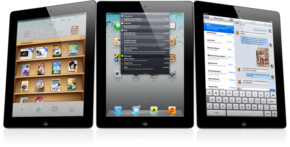 Três iPads