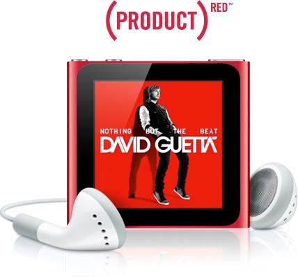 iPod nano - (PRODUCT) RED