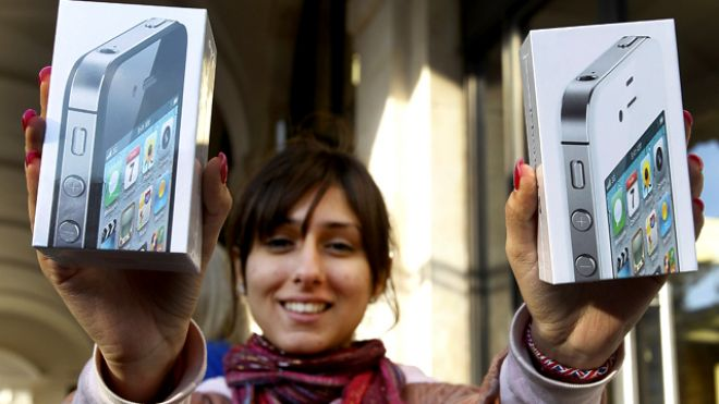 Compradora de dois iPhones 4S
