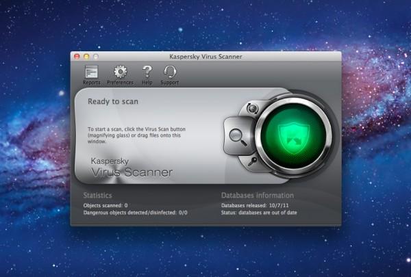 Kaspersky Virus Scanner - Mac