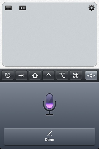 Siri Dictation no TouchPad