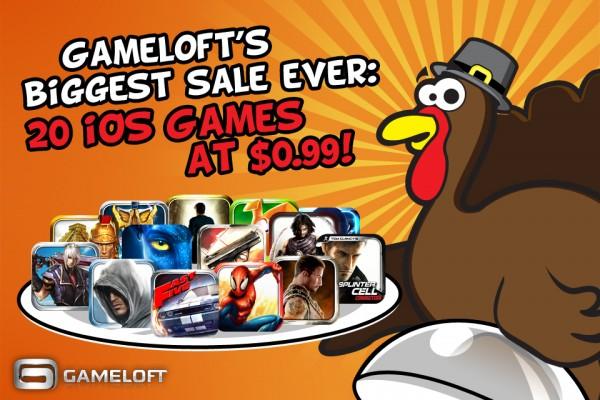 Gameloft - Biggest Sale Ever!