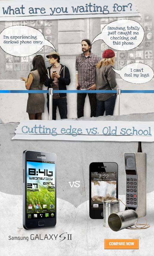 Campanha da Samsung