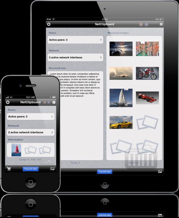 NetClipboard - iPhone e iPad