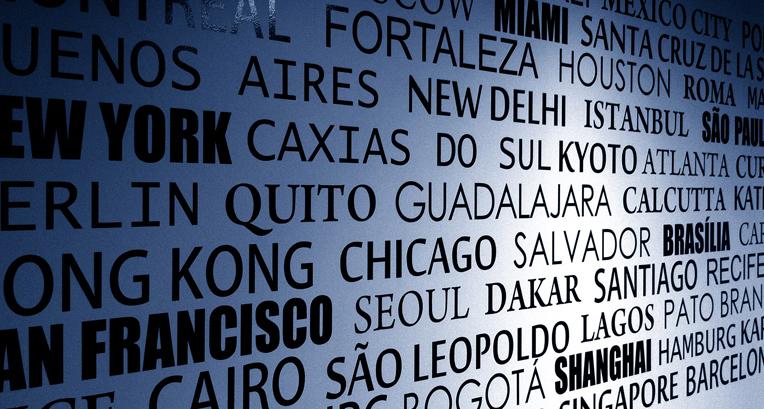 Nomes de cidades no Ticies