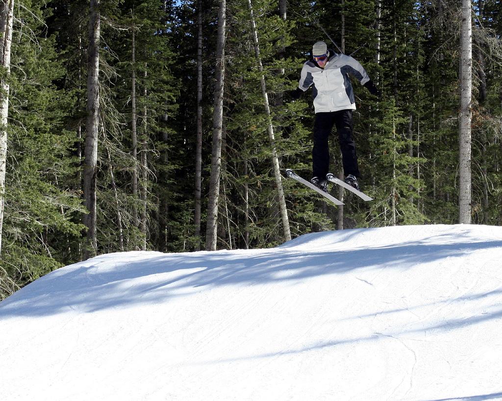 Esquiando em Telluride -Matt Sidesinger