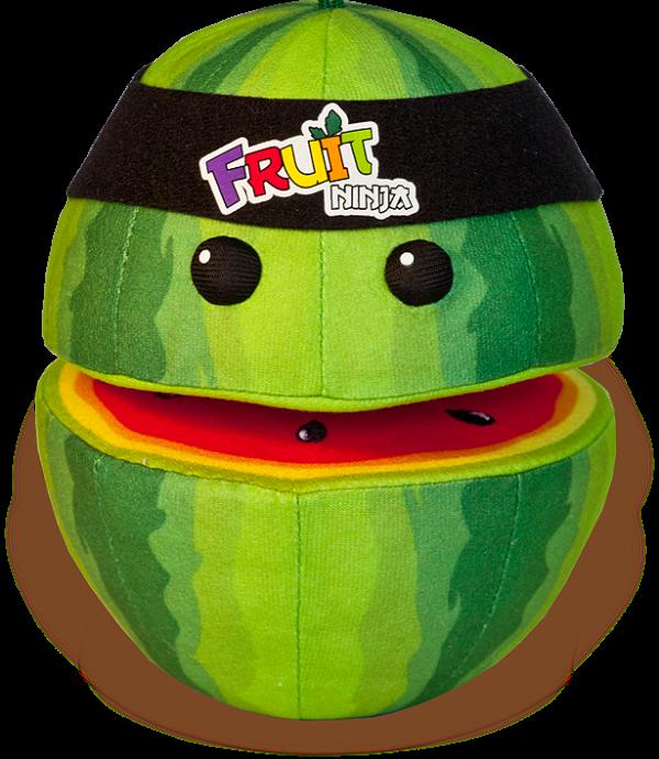 Melancia de pelúcia - Fruit Ninja