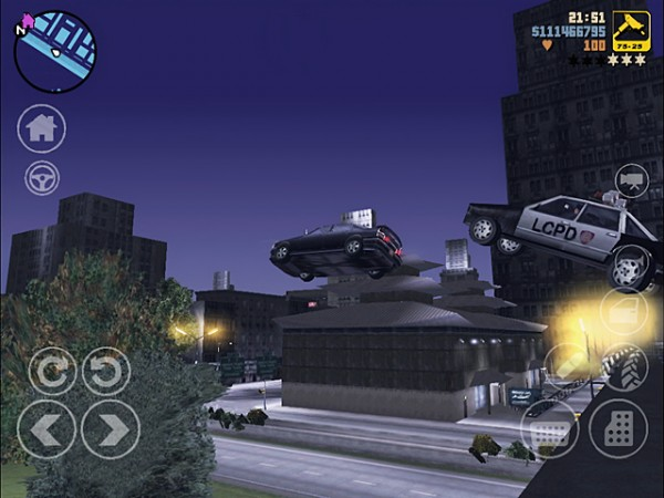 Grand Theft Auto III no iOS