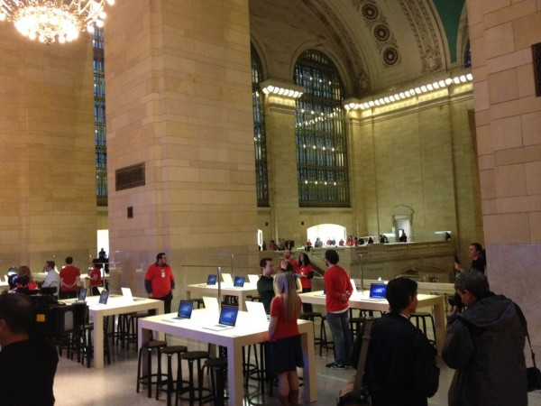 Apple Store, Grand Central - Ross Rubin