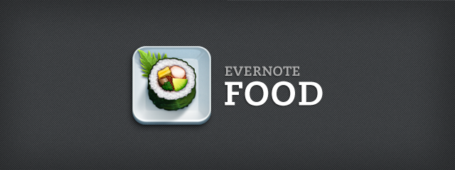 Banner Evernote Food