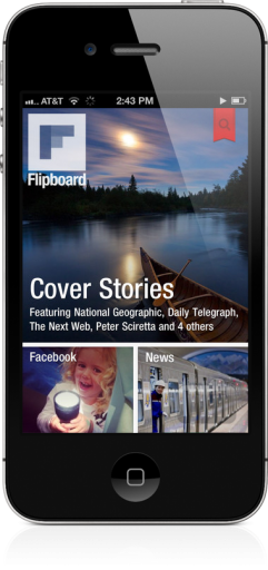 Flipboard no iPhone