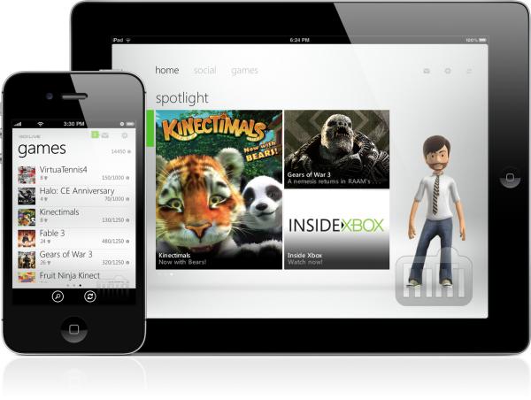My Xbox LIVE - iPad e iPhone