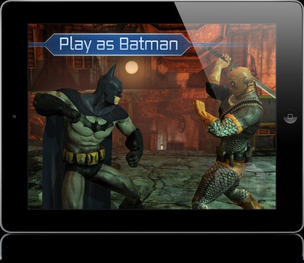 Batman Arkham City Lockdown no iPad