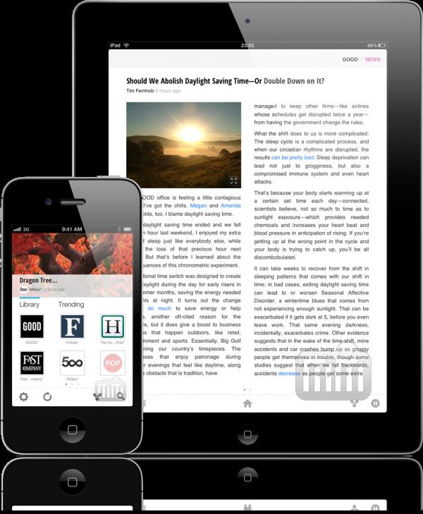 Google Currents - iPad e iPhone