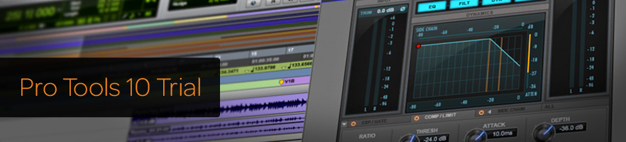Trial do Pro Tools 10