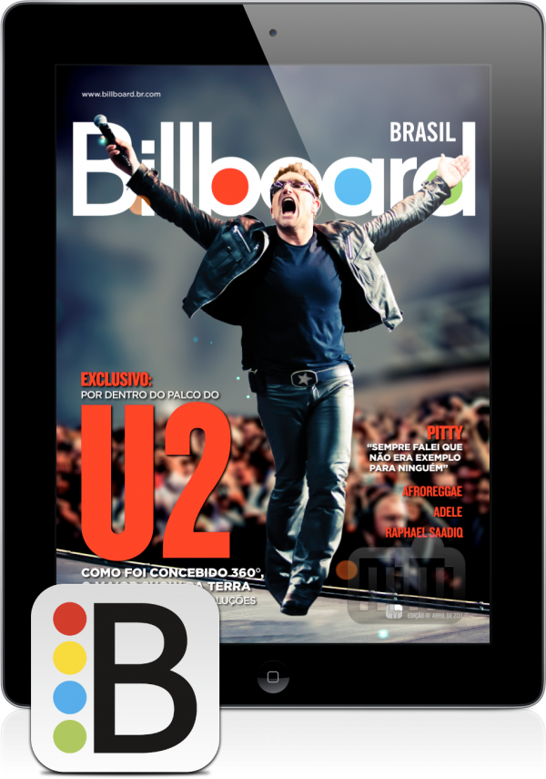 Revista Billboard Brasil - iPad
