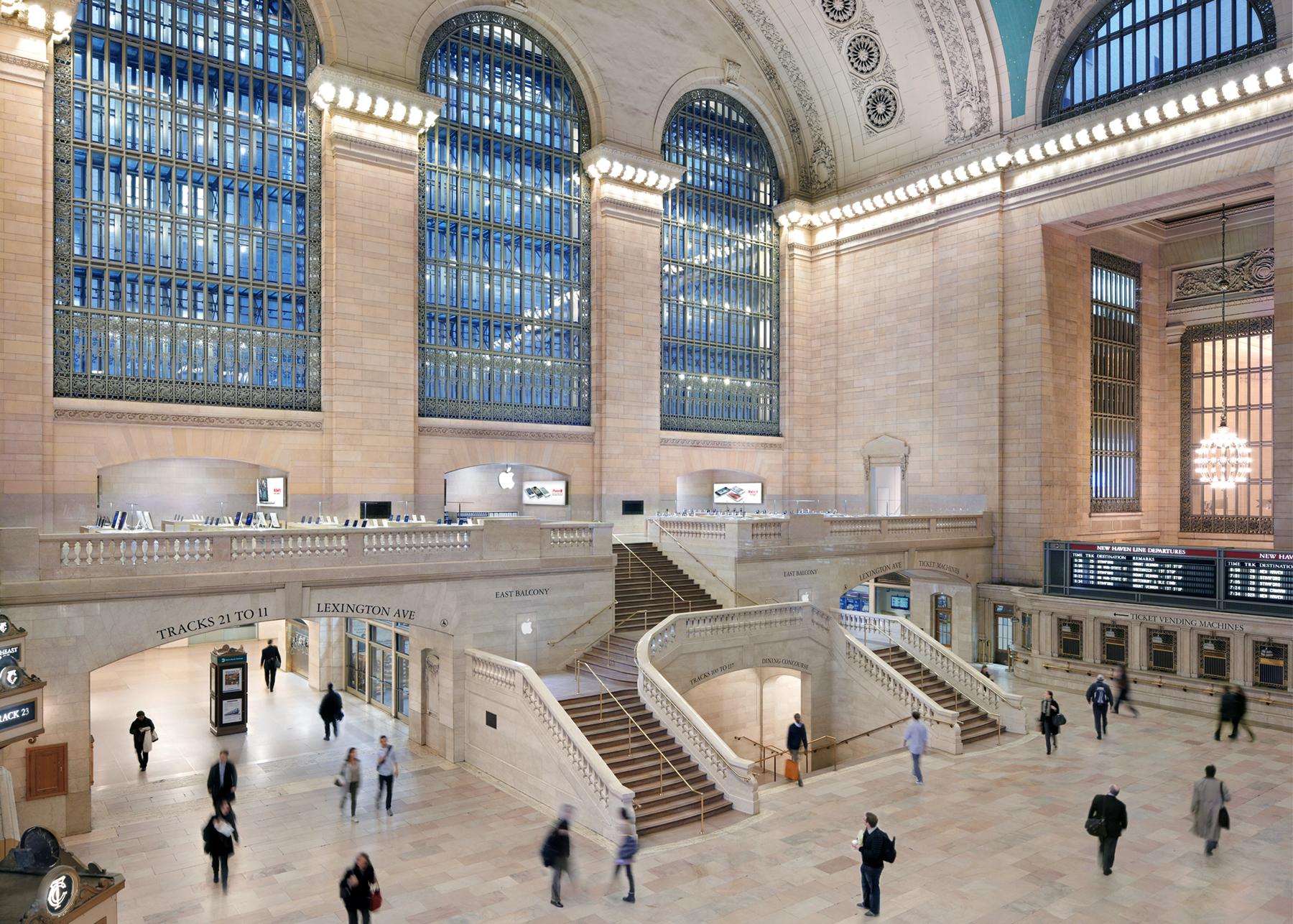Foto oficial da Apple Retail Store do Grand Central Terminal, em Nova York