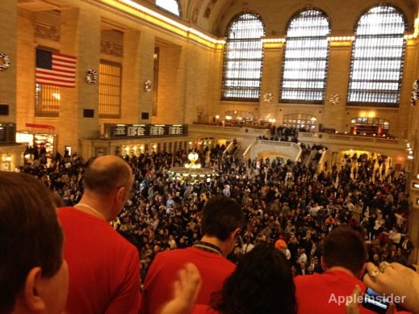 Mais fotos da abertura da Apple Store Grand Central