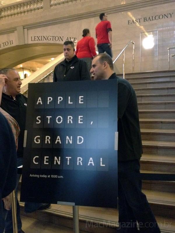 Apple Store Grand Central - foto do Bruno Carvalho