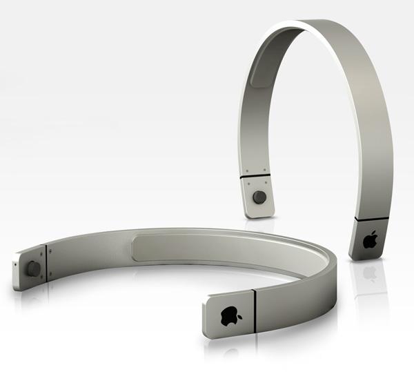 Conceito de headphones da Apple