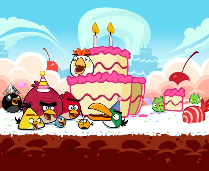 Segundo aniversário de Angry Birds