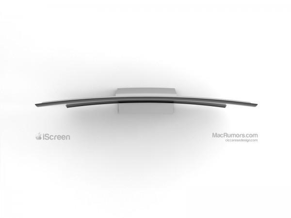 Conceito de TV da Apple - iScreen