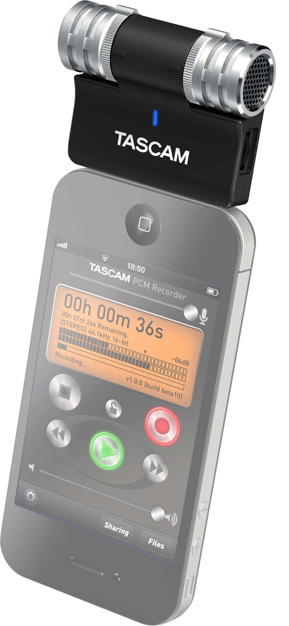TASCAM iM2 no iPhone