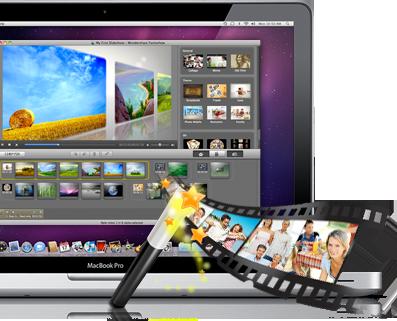 Wondershare Fantashow num MacBook Pro