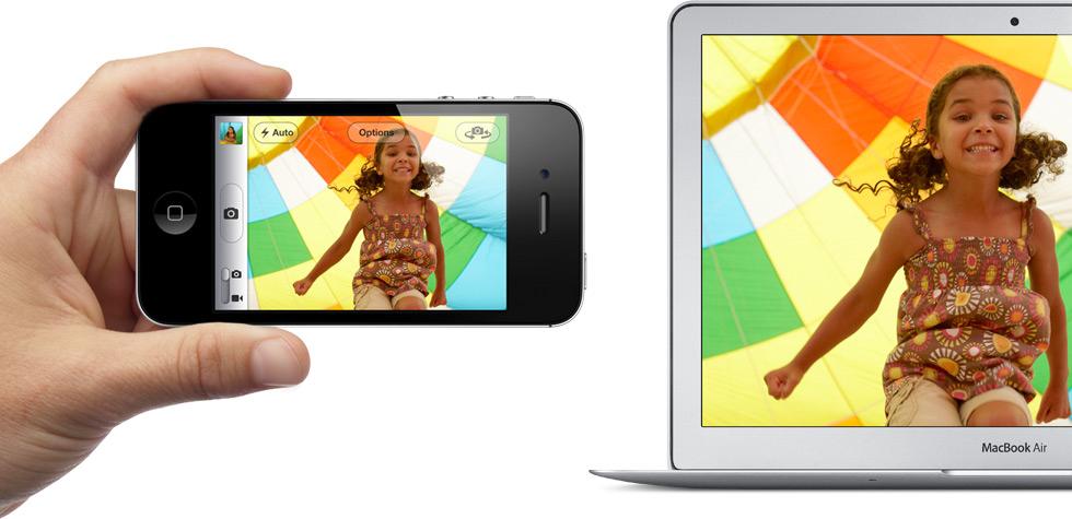 Photo Stream - iPhone e MacBook Air