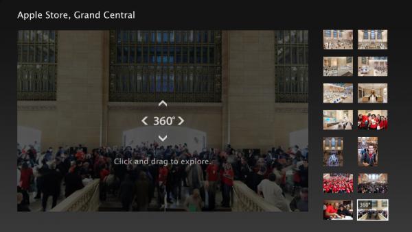 Visão 360º da Apple Store, Grand Central