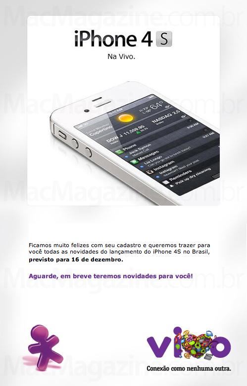 Vivo sobre iPhone 4S